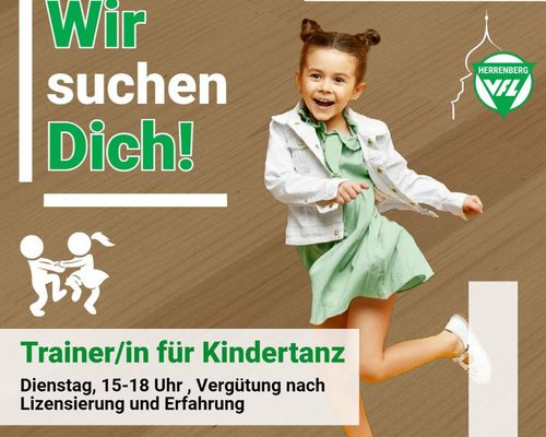 Trainerin/Trainer für den Kindertanz