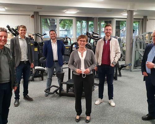 Landtagsabgeordnete Sabine Kurtz besucht VfL Center