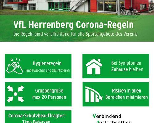 Corona-Regeln des VfL-Herrenberg
