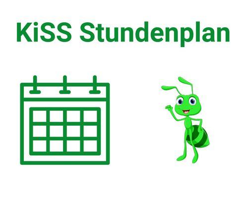 neuer Stundenplan 2021/2022 der KISS